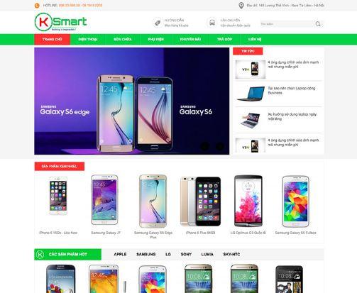 Bán hàng bằng website giúp trưng bày sản phẩm